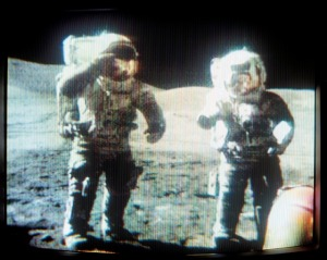Apollo 17 EVA