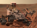 Artist Rendition of Mars Curiosity Rover