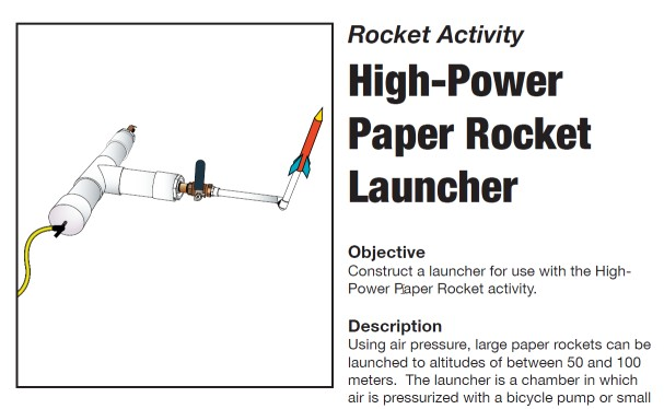 Notice – Please Discontinue Use of Paper Rocket Launcher ...